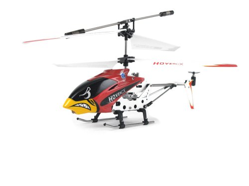 EZ Fly RC HCX001R Hover CX Mini Helicopter, Red