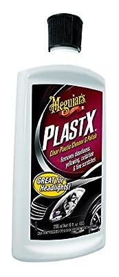 Meguiar's G12310 PlastX Clear Plastic Cleaner & Polish, 10 oz