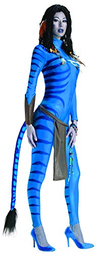 [Secret Wishes Avatar Neytiri Costume, Blue, XS (0/2)] (Alien Costume Woman)