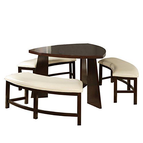 Triangle Dining Table Amazoncom - Triangle dining table set