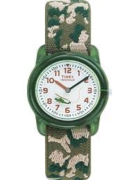 Timex Kids' 78141 Camouflage Stretch Band Watch