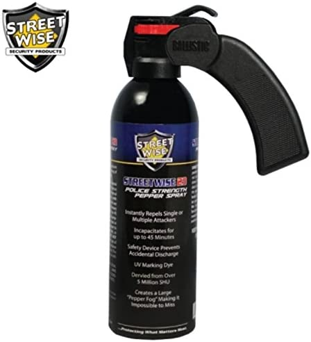 Streetwise Security Products Lab Certified Streetwise 18 Pepper Spray, 16-Ounce, Pistol Grip