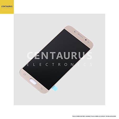 For Samsung Galaxy J5 Pro 2017 J530 J530F J530S J530K J530L J530FM J530Y J530YM 5.2 inch Assembly LCD Display Touch Screen Digitizer Glass Full Replacement Part Complete (Gold)