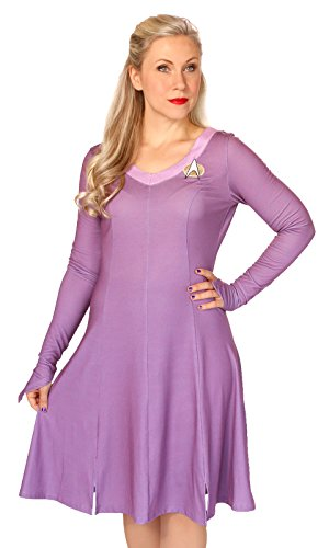 Star Trek Deanna Troi Women's Costume Dress (Medium)