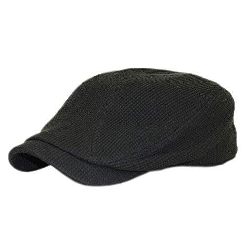 帽子 ミッサ?モーレ ハンチングワッフルつばロング 普通サイズ & Bigサイズ