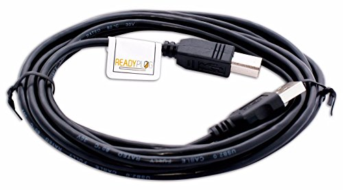 ReadyPlug® USB Cable for HP Deskjet 450wbt Mobile Printer (10 Feet) - Deskjet 450wbt Mobile Printer