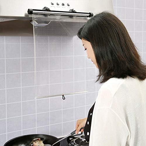 Ganmaov Cocina Máscara De Cocina Anti Aceite Cortina De Salpicaduras Cocina Herramientas De Protección Máscara Protectora De Cara: Amazon.es: Hogar
