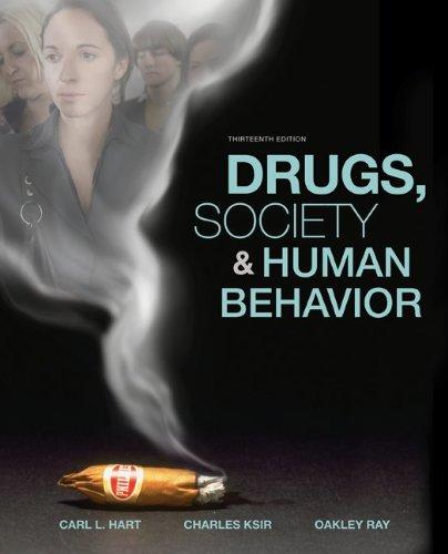 Drugs, Society, and Human - Oakley City Kansas