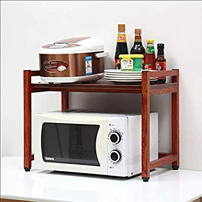 LJYG - Estante de horno para microondas, estante de almacenamiento ...