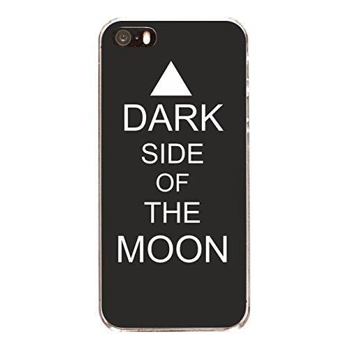 "Disagu Design Case Coque pour Apple iPhone SE Housse etui coque pochette ""DARK SIDE OF THE MOON"""