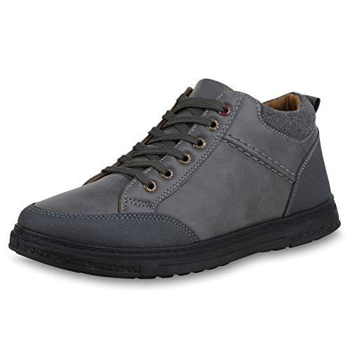 High Sneaker Herren SCARPE Profilsohle VITA Grau tz6CqZw