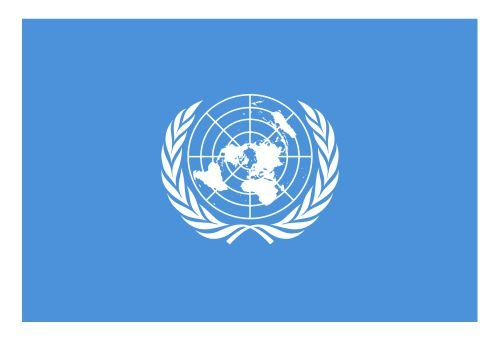 United Nations Flag Vinyl Sticker Decal