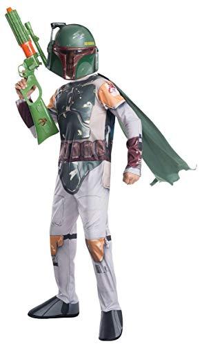 Rubie's Costume Star Wars Classic Boba Fett Child Costume, Large ()
