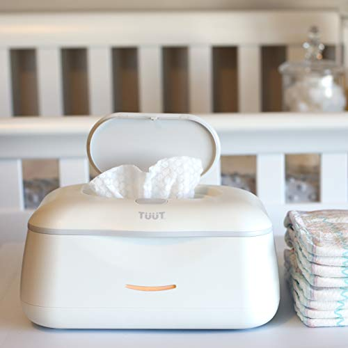 (Baby Wipe Warmer & Wipes Dispenser - Sleek Diaper Wipes Holder for Boys and Girls - Tuut  )