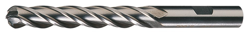 Cleveland C41312 HG-4B High Speed Steel Single End Multi-Flute Center Cutting Ball Nose Finisher End Mill
