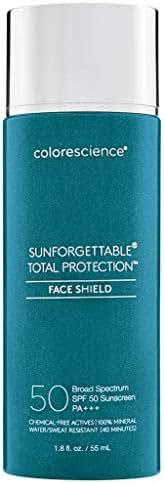 Colorescience Sunforgettable Total Protection SPF 50 Face Shield, 1.8 fl. oz.