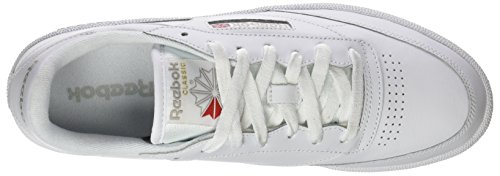 Blanc Gymnastique De Femme Bs7686 Chaussures 000 white Reebok Grey light UqgXFn