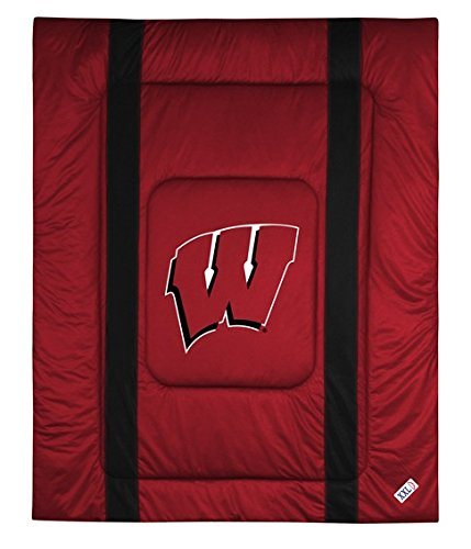 University of Wisconsin Jersey Stripe Comforter ()