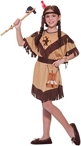 Forum Novelties Native American Princess Costume, Child's (Child Indian Princess Halloween Costume)