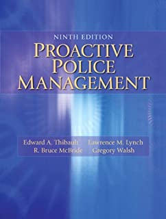 Handbook of Police Administration (Public Administration and Public Policy)