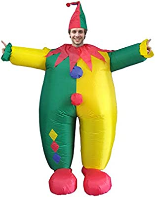 Adult Inflatable Suit Funny Cosplay Chef Inflatable Carnival ...