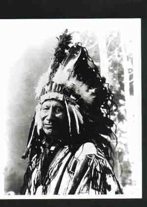 Amazon com: Photo of Blackfoot Indian Chief c1890
