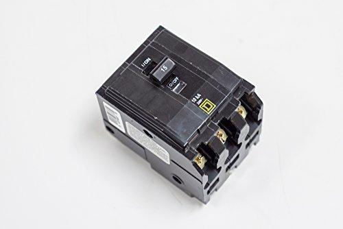 Pole 100 Amp Circuit Breaker - Square D by Schneider Electric QO3100 QO 100 Amp Three-Pole Circuit Breaker, ,