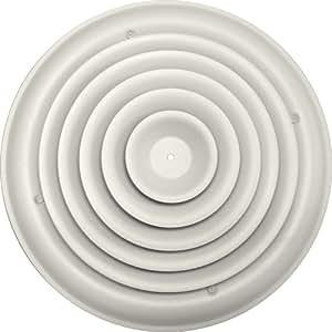 Speedi Grille Sg Rcr 12 12 Inch Round White Ceiling Air