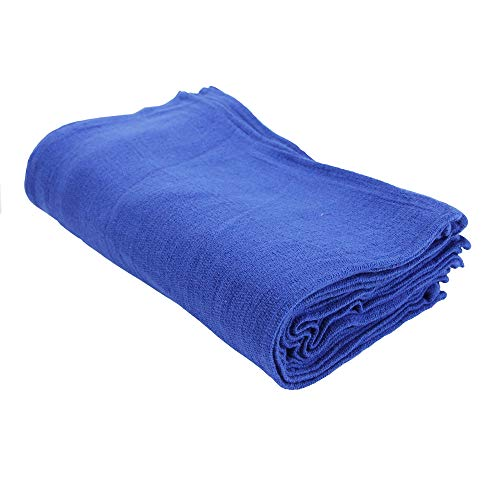 Arkwright Surgical Huck Cleaning Towels | Pack of 12 Absorbent Towel Perfect for your Windows, Glass Painted Metal, Ceramic, Counters, Cabinets (16 x 26 in, Blue)