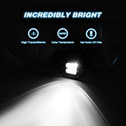 Nilight 2PCS 18W Flood LED Work Light Driving Ligh