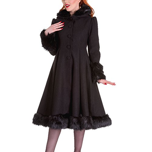 Bunny Intenso Black verde Cappotto Elvira Hell qxw16fPE