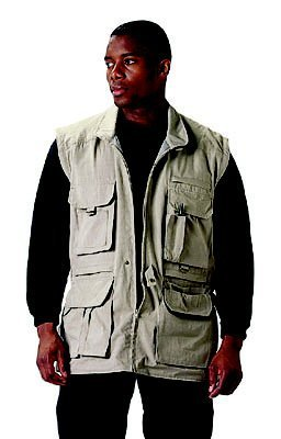 Rothco Safari Jacket - Khaki, Medium