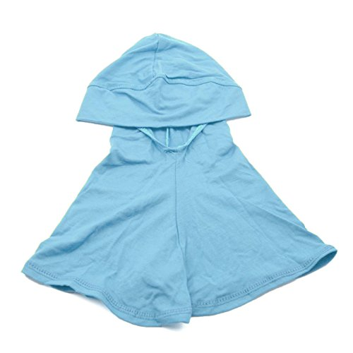 1Pc Sky Blue Cotton Islamic Turban Head Wear Neck Chest Cover Bonnet Hijab Hat Scarf for Women