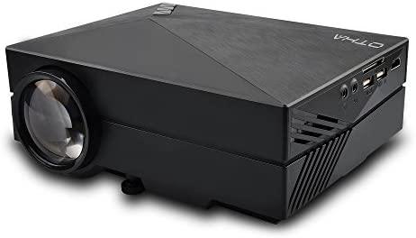 OTHA Mini Proyector Portátil con Cable HDMI, GM60 1000 Lúmenes ...