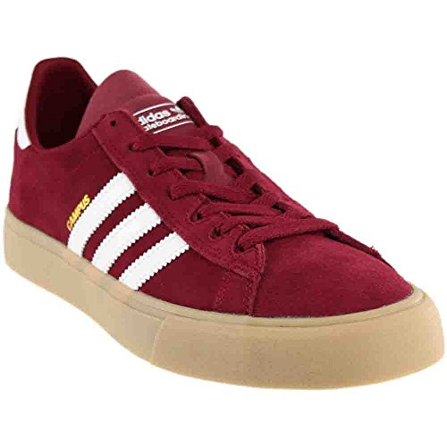 official photos b1329 1c05c adidas Campus Vulc 2.0 ADV (Collegiate Burgundy White Gum 4) Men s Skate  Shoes-11 - Buy Online in UAE.   Shoes Products in the UAE - See Prices, Reviews  and ...