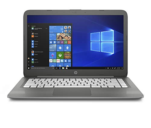 HP Stream 14-inch Laptop, Intel Celeron N3060 Processor, 4 GB SDRAM Memory, 64 GB eMMC Storage, Windows 10 Home in S Mode with Office 365 Personal for one Year (14-cb090nr, Smoke Gray)