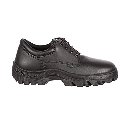 - Rocky 5000 US Made Berry Compliant TMC Postal-Approved Plain Toe Oxford Shoes