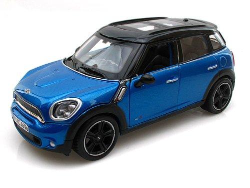 (Mini Cooper 4dr Countryman Blue 1/24 by Maisto 31273)