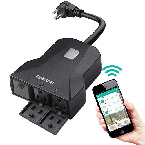 Outdoor WiFi Smart Outlet Plug