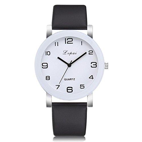 Paymenow Women Ladies Wrist Watch Quartz Watch Round Dial Clock Luxury Fashion Business Classic Watches for Female (F)