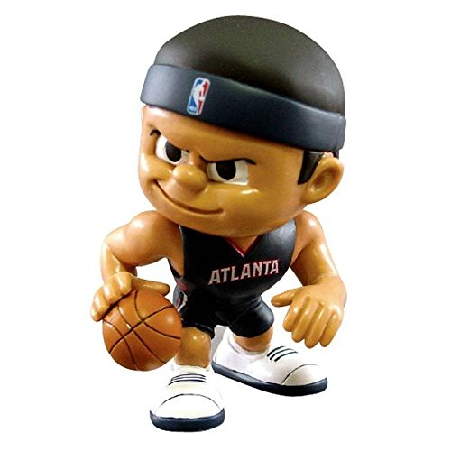 Atlanta Hawks Official NBA 2 inch x 2.5 inch x 3 inch Lil Teammates NBA Playmaker Series 2 Toy Figure by Party Animal Inc 701081 by The Party Animal