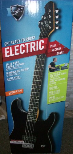 FIRST ELECTRIC GUITAR PACK BLACK