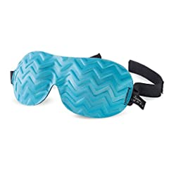 "The Bucky Ultralight Chevron Sleep masks are a smaller version of our 40 Blinks for children and a great option for those with more petite faces or who wants a good mask that molds to their face. Measuring 8""x3.25"", our Chevron masks are an i..."
