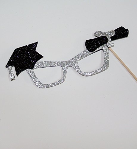 1 Pc Graduation Glasses Photo Booth Props