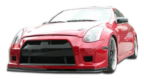 Guaranteed Fitment and Made in the USA! Extremely Durable Easy Installation Infiniti G35 2DR Coupe 2003-2007 ING Style 2 Piece Polyurethane Side Skirts manufactured by KBD Body Kits