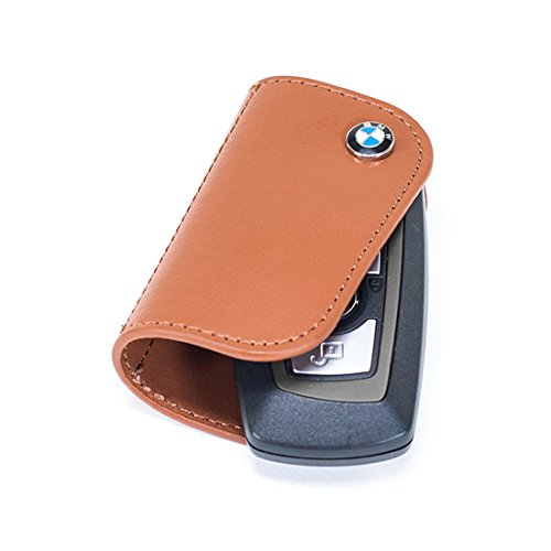 BMW Leather Key Cases Brown