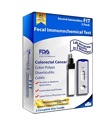Second Generation FIT (Fecal Immunochemical Test) for Colorectal Cancer (2)