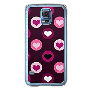 Loud Universe Samsung Galaxy S5 Love Valentine Printing Files A Valentine 213 Printed Transparent Edge Case - Purple