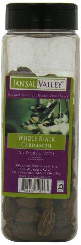 Jansal Valley Whole Black Cardamom, 8 Ounce by Jansal Valley
