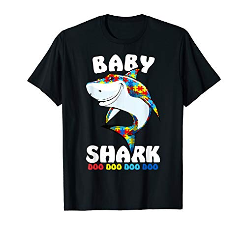 Baby Shark Autism Awareness Gift T-Shirt Autism Mom,Mommy -